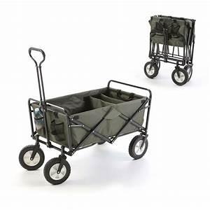 Chariot De Transport Pliable : cabas 4 roues pliant jardin trolley chariot brouette ~ Edinachiropracticcenter.com Idées de Décoration