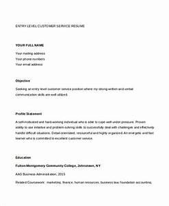 customer care resume