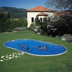 Piscine En Acier : kit piscine enterr e en acier galvanis livraison gratuite ~ Melissatoandfro.com Idées de Décoration
