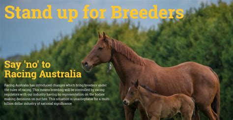 breeders update rules racing thoroughbred australia tba stand important issue below latest