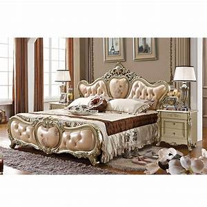 French, Style, New, Design, Antique, Style, Wooden, Bed