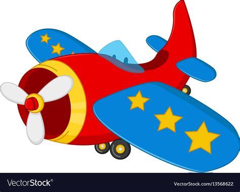 Cartoon Plane Vector Art Graphics