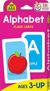 Memory Card Chart Alphabet Flash Cards Letter Flash Cards By School Zone
