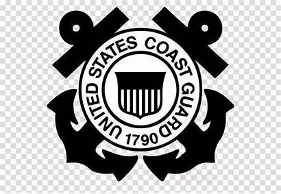 Guard Coast Clipart Emblem Organization Retired Decal