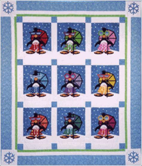 bradley designs pattern bradley designs penguin paradise appliqu quilt