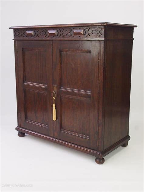 Small Cupboard Doors by Oak Shoe Cabinet Small Cupboard Antiques Atlas
