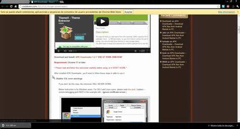 Instalar Apk Downloader En Chrome
