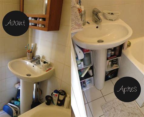 remplacer meuble sous le lavabo chez vivianne