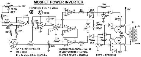 Vdc Vac Inverter Circuit Diagram