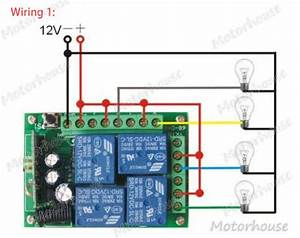 4 Channel Momentary Remote Wiring Diagram