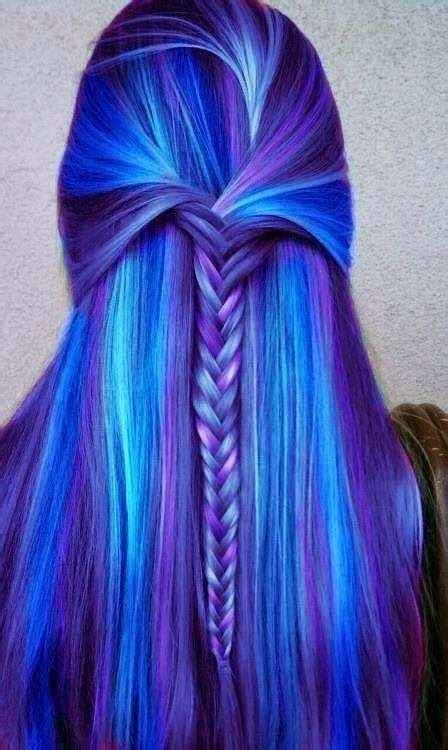 10 Awesome Multi Colored Hair Rainbow Braids That Will