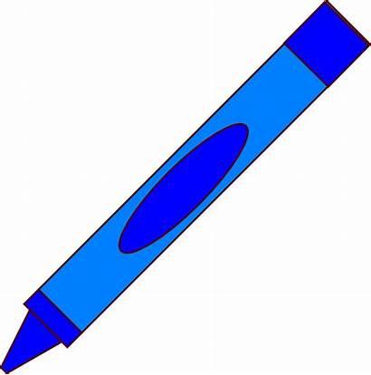 Crayon Clip Clipart Vector Clker Cliparts