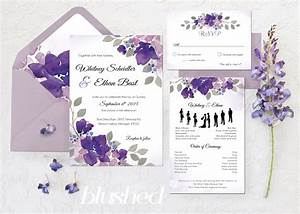 katrina crouch blushed design quotfrench gardenquot floral With free wedding invitation templates lilac