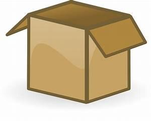 Open Box Clipart