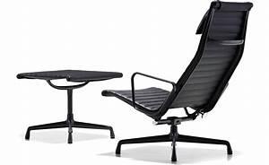 Eames Chair Lounge : eames aluminum group lounge chair ottoman ~ Buech-reservation.com Haus und Dekorationen