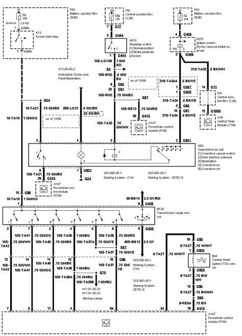 Wiring Diagram 2000 Ford Focu Zetec 2000 ford focus a wiring diagram