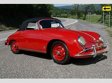 1958 Porsche 356A Cabriolet Original Rudge Wheels