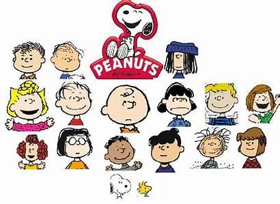 Peanuts Characters Charlie Brown Character Names Gang
