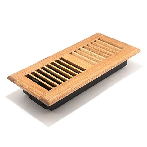 4x10 Wood Floor Registers by 4x10 Inch Louvered Light Wood Floor Register Aofroll410