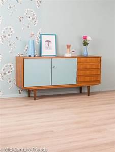 Möbel Streichen Vintage : wundersch nes sideboard im 60er jahre stil vintage m bel retrot teak retro chic ~ Markanthonyermac.com Haus und Dekorationen
