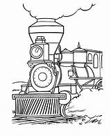 Coloring Train Pages Steam Popular Locomotive sketch template