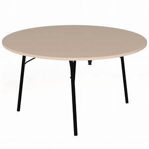 Table Ronde 140 Cm : table pliante visa ronde 140 cm pi tement poxy ~ Teatrodelosmanantiales.com Idées de Décoration