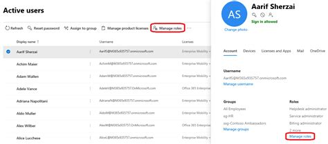 Office 365 Roles by New Management Ui In The Office 365 Admin Center