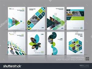 Business Vector Set  Brochure Template Layout  Cover