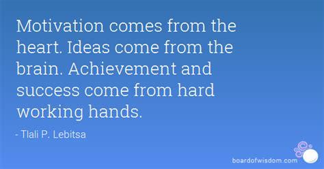 motivation    heart ideas    brain