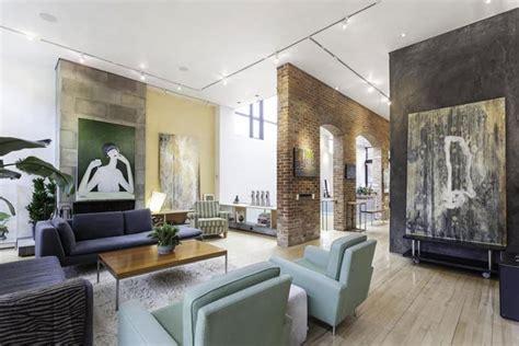 stylish apartment  manhattan  york
