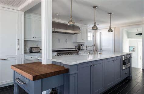 kitchen islands butcher block 27 blue kitchen ideas pictures of decor paint cabinet