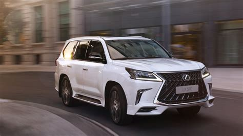 Lexus Lx Gets 'superior' For 2018 In Russia, Middle