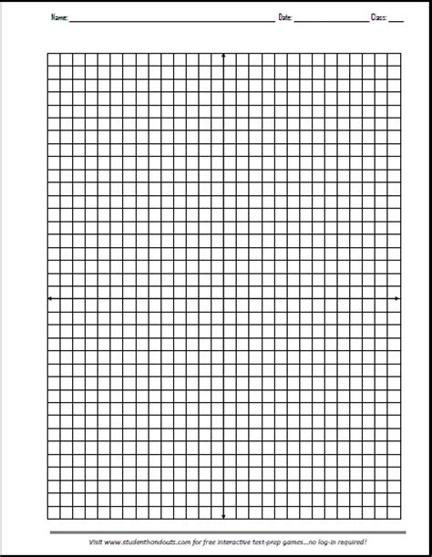 axis graphing paper   print student handouts