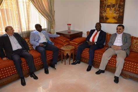 chambre de commerce du maroc le ministre d 39 etat mathieu mboumba nziengui rencontre le
