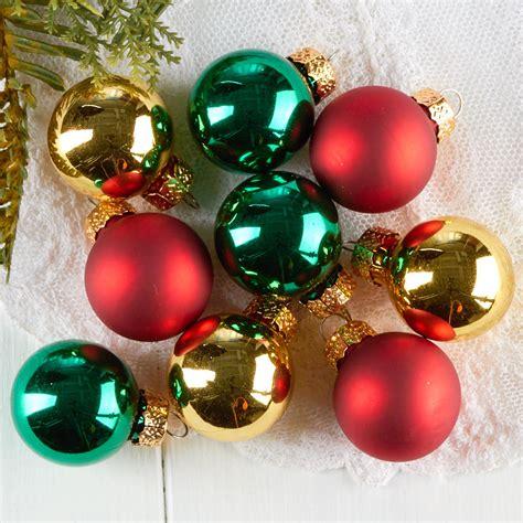assorted miniature christmas ball ornaments christmas
