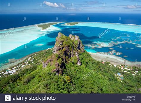 Maupiti Island French Polynesia Stock Photo 50209703 Alamy