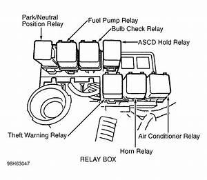 2006 Nissan Xterra Fuel Pump Relay Location