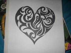 Heart- Sharpie Art 2 by HelloKittyGirl11 on DeviantArt