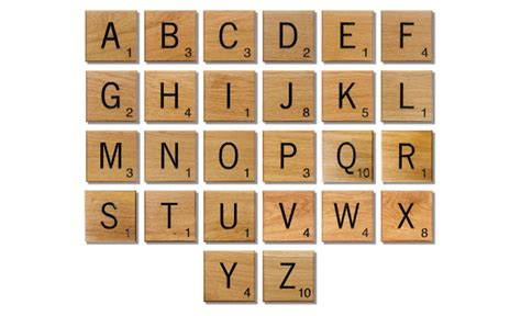 Printable Wooden Scrabble Tiles by Large Scrabble Letters Printable Pictures To Pin On