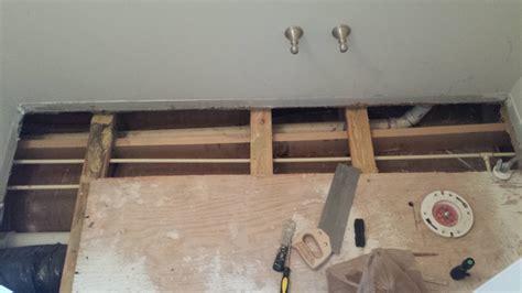 framing    add blocking  floor truss joists