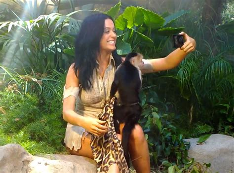 Katy Perry Becomes Queen Of The Jungle In New Music Video