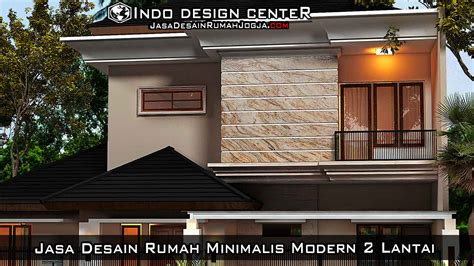 gambar jasa desain rumah minimalis modern  lantai
