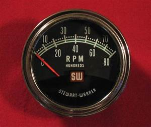 Sell Stewart Warner 8000 Greenline Tach Vintage Original 813929 Nos With Box Hardware Motorcycle
