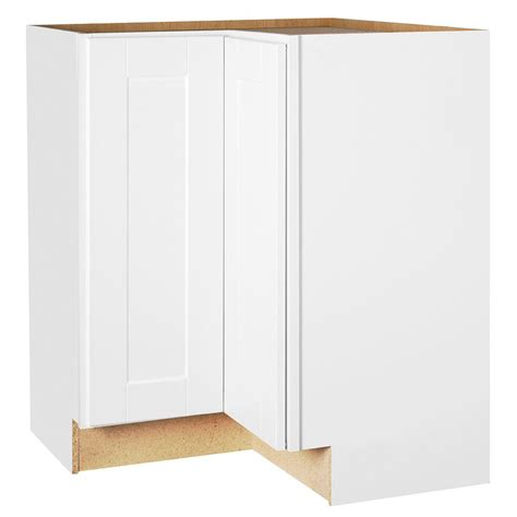 lazy susan for kitchen corner cabinet hton bay shaker assembled 28 5x34 5x16 5 in lazy susan