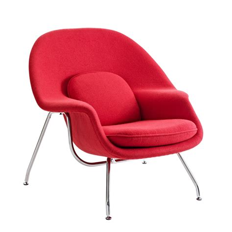 womb chair ottoman now available from modern