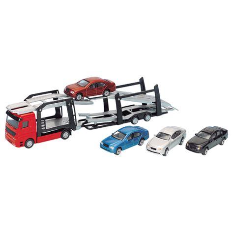 age siege auto bebe camion de transport de voitures motor co king jouet