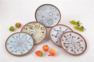 Teller Set Bunt : madeheart keramik geschirr bunt handmade teller keramik bunt origineller teller 5 st ck ~ Orissabook.com Haus und Dekorationen