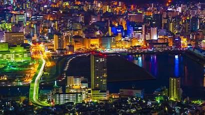 Lights Japan Aerial Night Hdv 720p Background