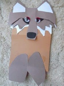 paper bag puppets guide patterns