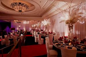 Jennifer rose event design stop and smell the roses old for Hollywood themed wedding reception ideas